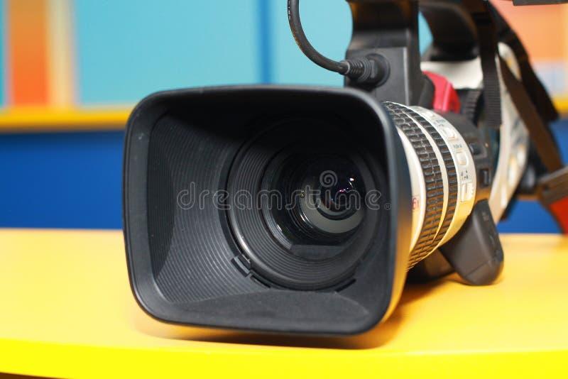 Videocamera digitale professionale immagini stock