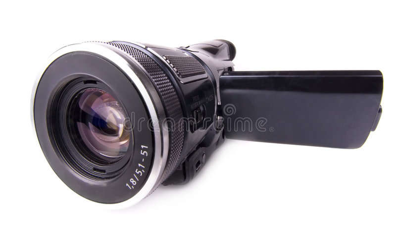 Videocamera moderna fotografia stock libera da diritti