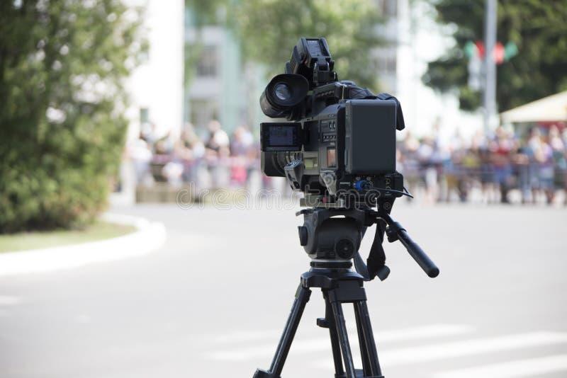 Videocamera portatile immagine stock