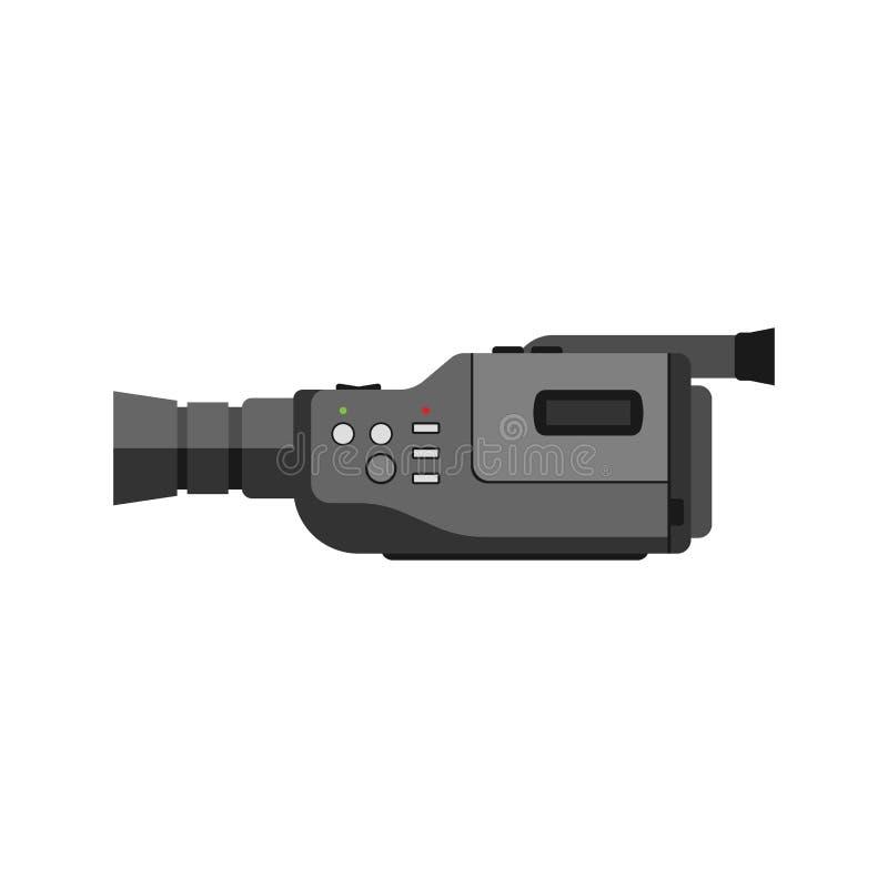 Videocamera vectorillustratie vector illustratie