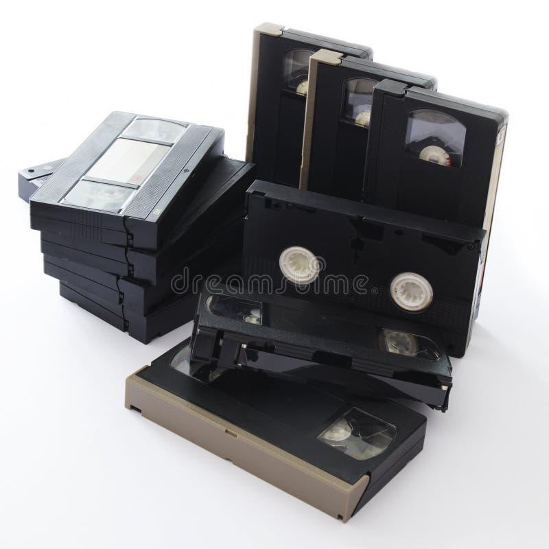 videocassette arkivbilder