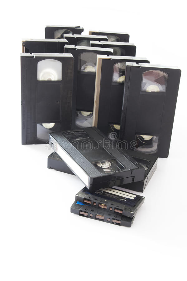 videocassette royaltyfri foto