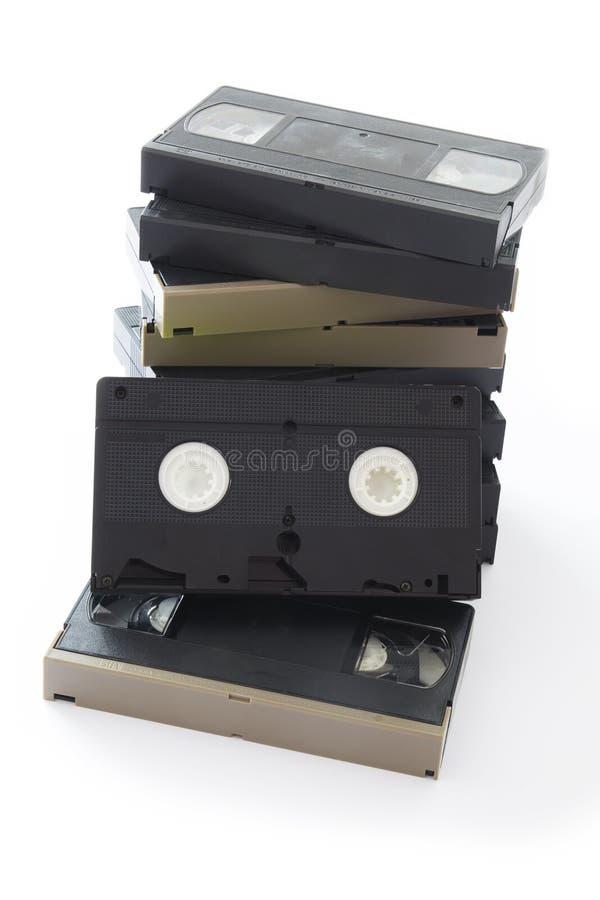 videocassette royaltyfri fotografi