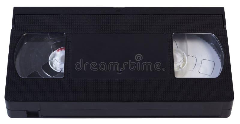 Videocinta en blanco de VHS fotos de archivo