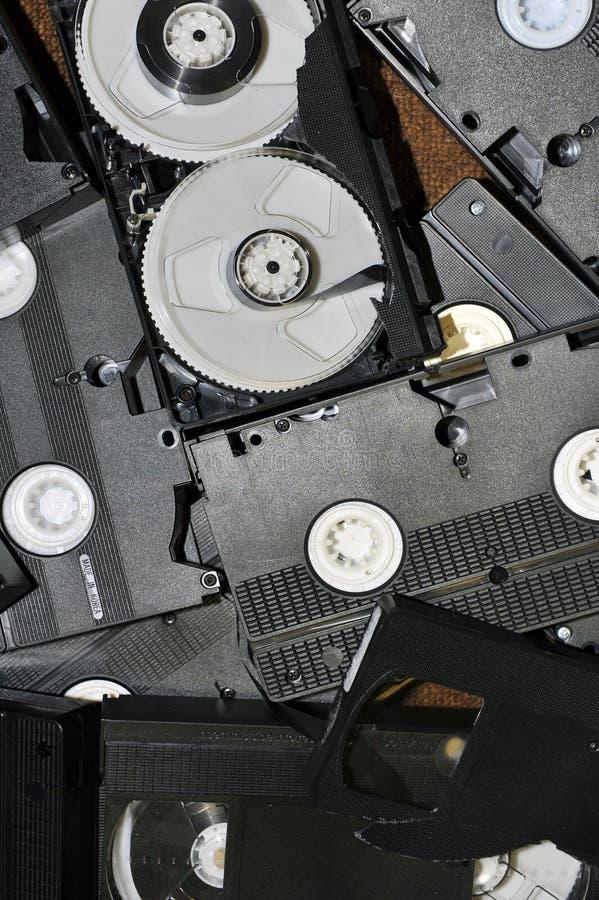 Videocinta VHS imágenes de archivo libres de regalías