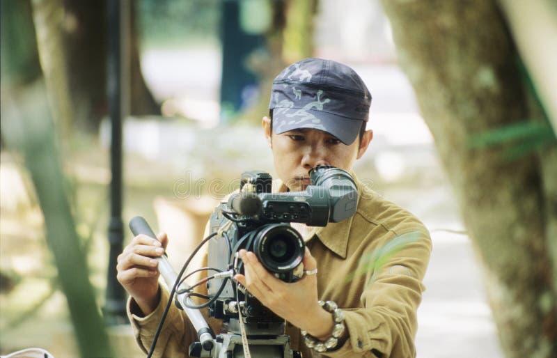 videographer royaltyfria bilder