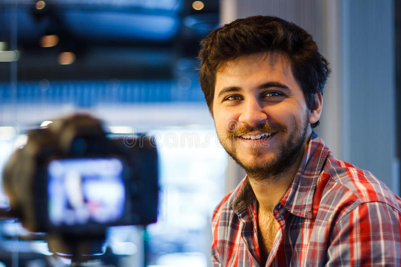 Videographer lizenzfreie stockfotos