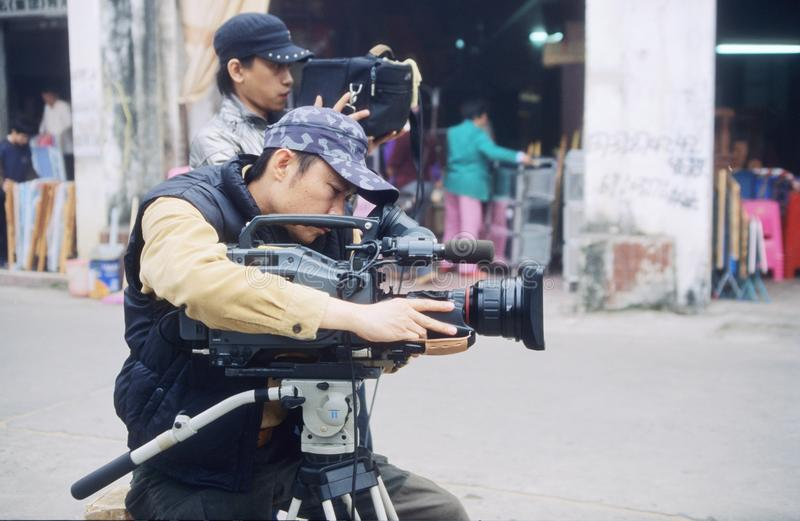 Videographers stock images