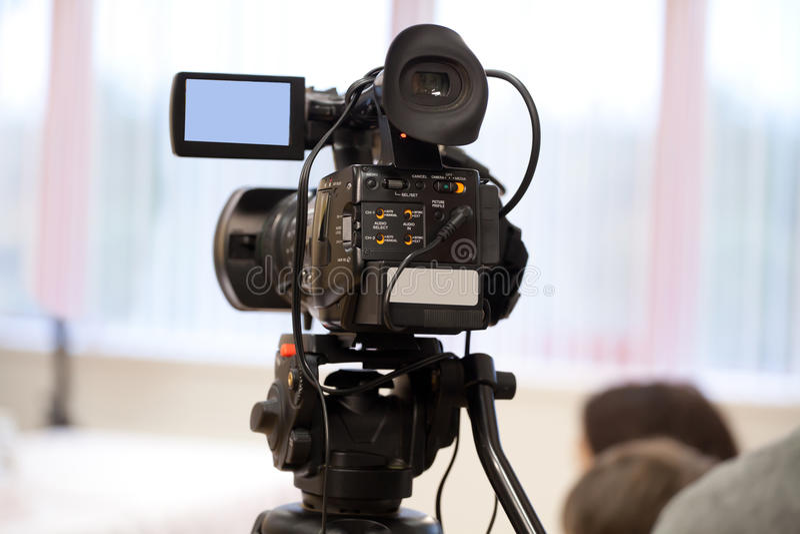 Videokamera arkivbild