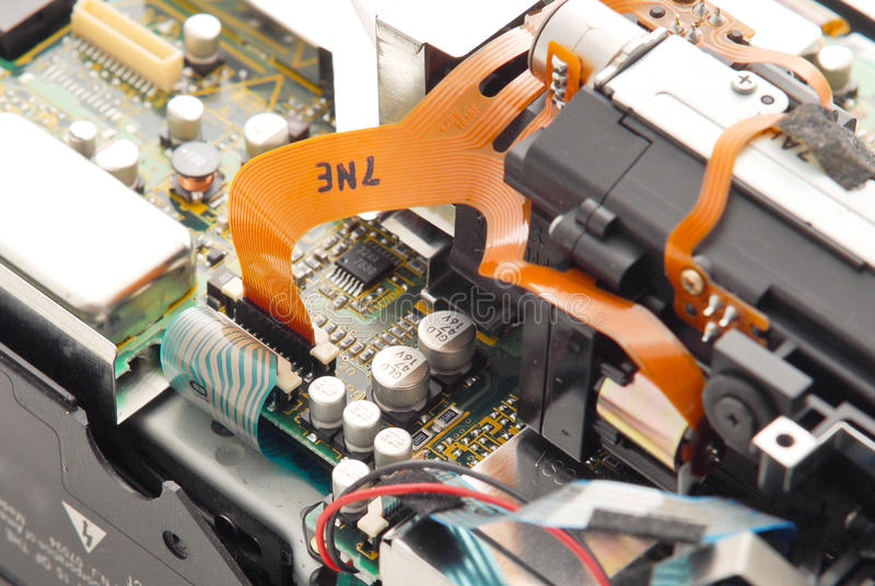 Videokamera-Reparatur lizenzfreie stockfotos