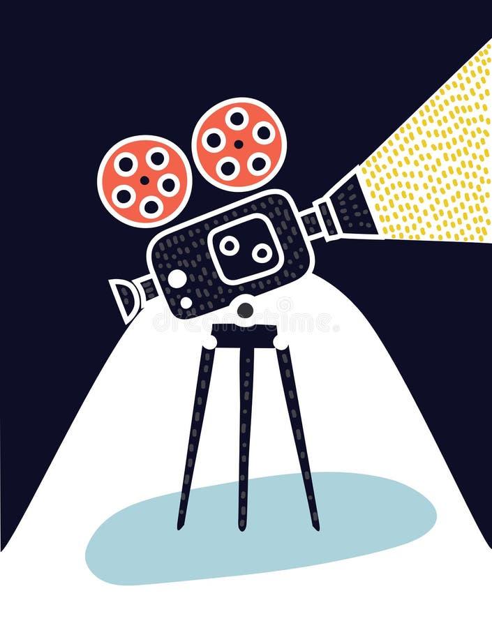 Videokamerasymbol royaltyfri illustrationer