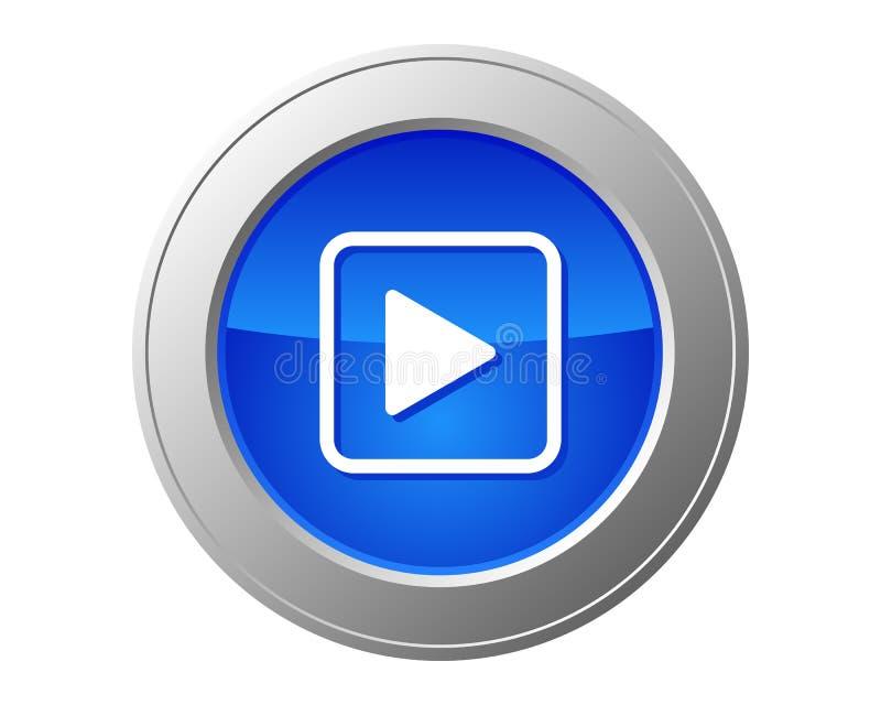 Videoknoop royalty-vrije illustratie