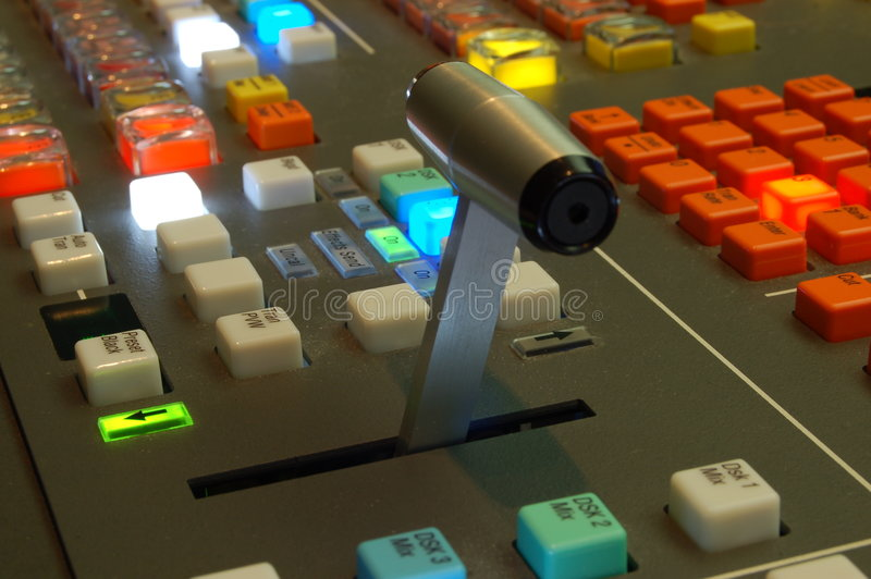 Download Videomixer stock image. Image of signal, production, studio - 1065595
