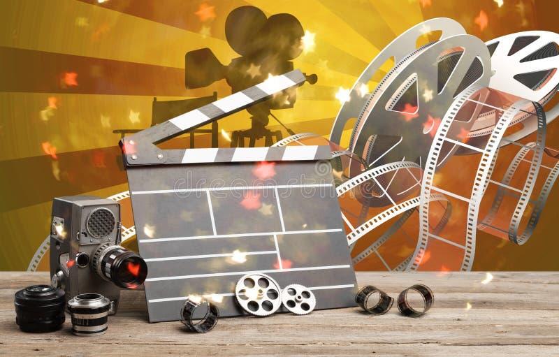 Videoproductie stock afbeeldingen