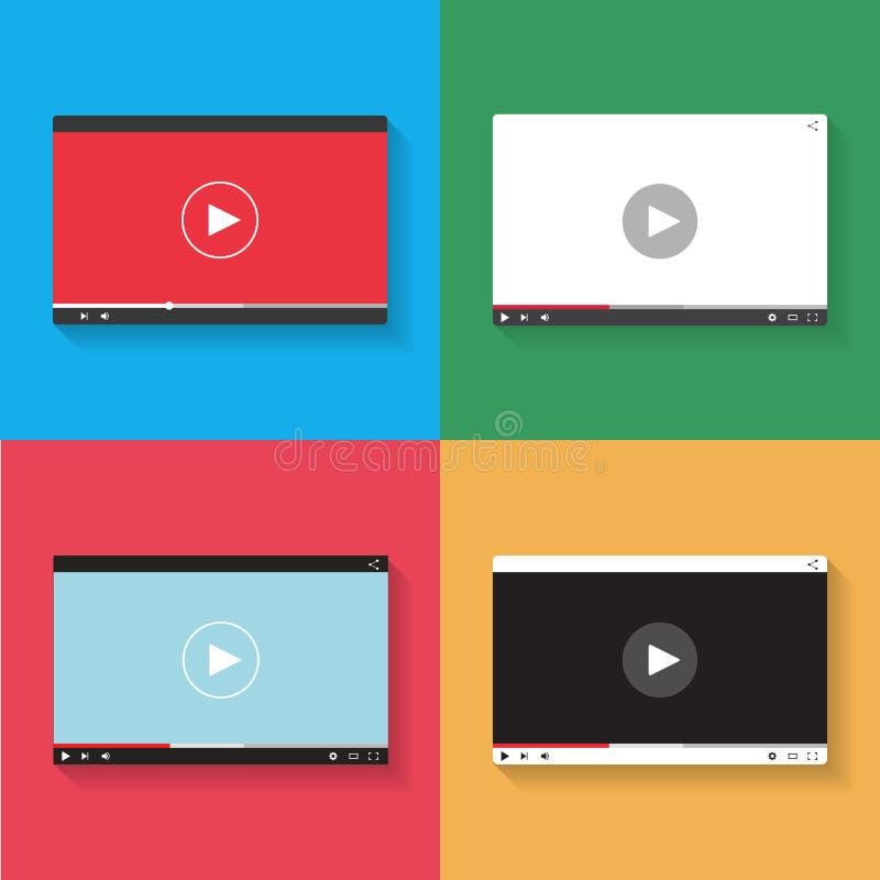 Videospeler vector illustratie