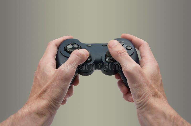 Videospelletje stock foto's