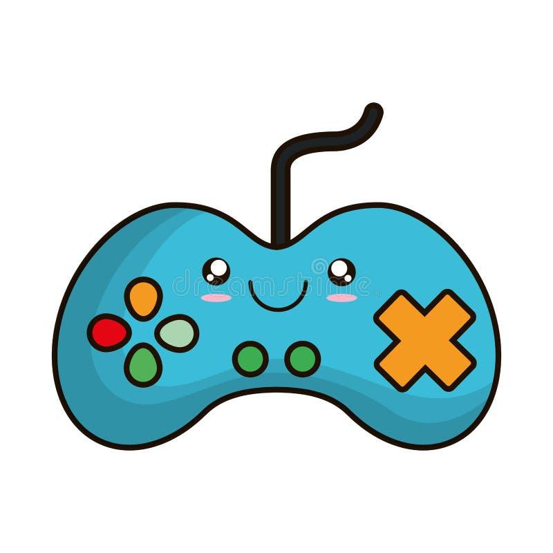 Videospelletjecontrole geïsoleerd pictogram vector illustratie