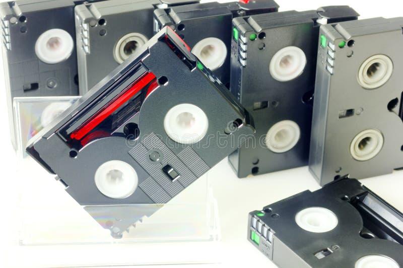 Videotapes stock photos
