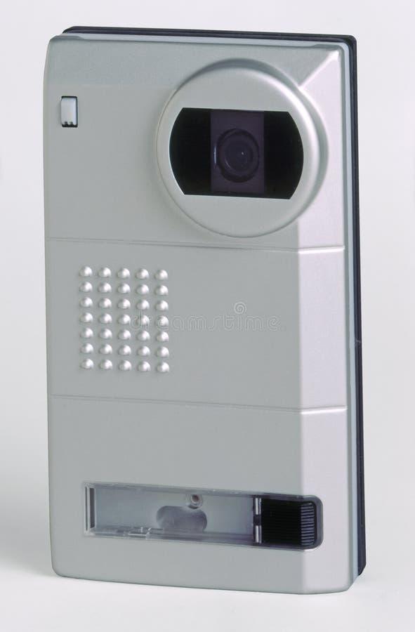 Videowechselsprechanlage lizenzfreies stockbild