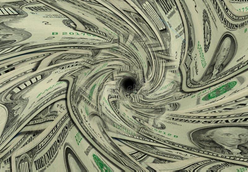 videz l'argent photographie stock