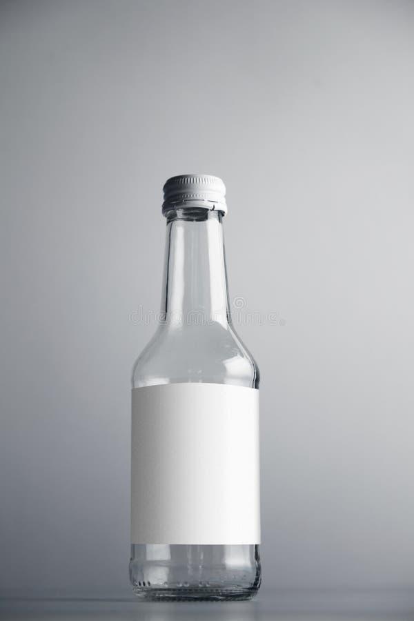 Videz la bouteille scellée images libres de droits