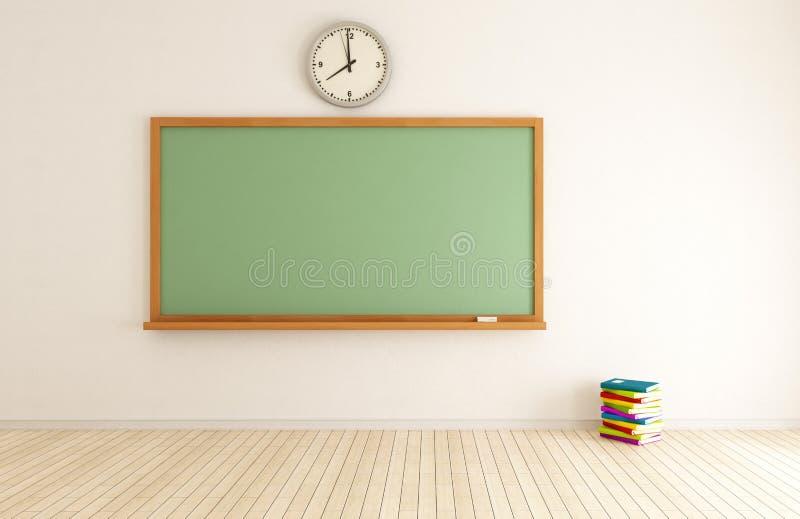 Videz la salle de classe illustration libre de droits
