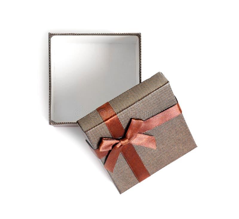 Videz le boîte-cadeau ouvert photos libres de droits