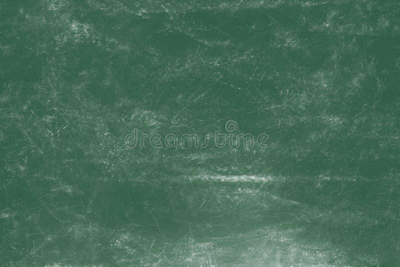 Videz le fond vert de panneau de craie, fond vide de tableau noir photos stock