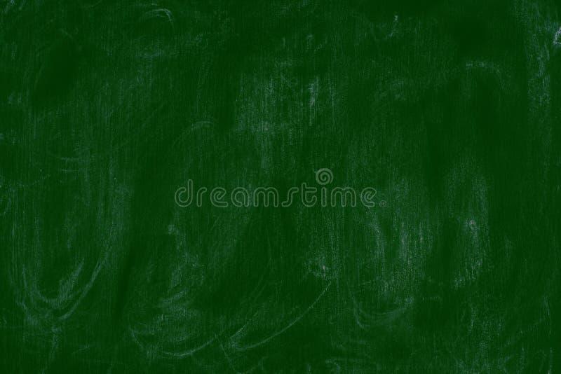 Videz le fond vert de tableau noir de blanc de fond de panneau de craie images libres de droits