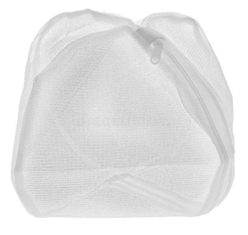 Videz le sac de lavage pour les vêtements sensibles, chaussures, sous-vêtements, soutiens-gorge Un l photos stock