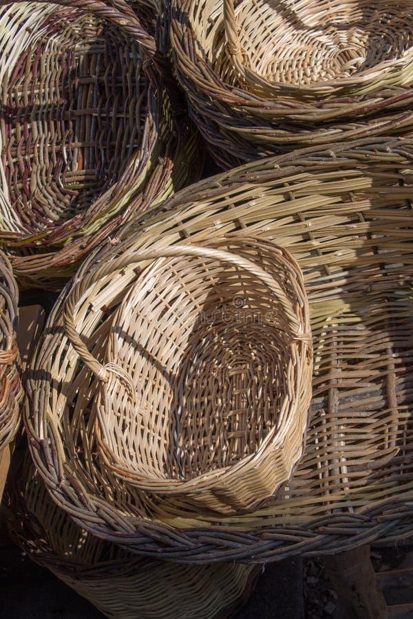 Download Videz Les Paniers En Osier à Vendre Dans Un Marché Image stock - Image du handwork, cadeau: 87706059