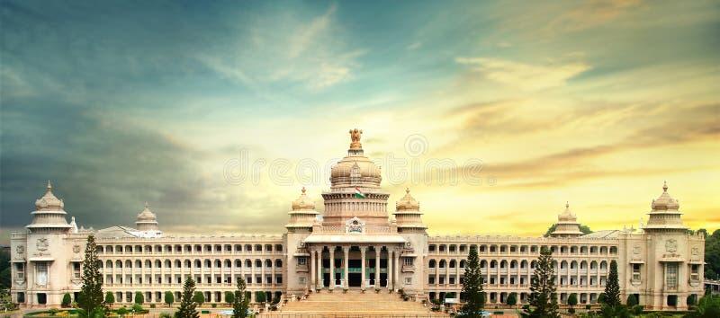 Vidhana soudha, bangalore, karnataka arkivbilder