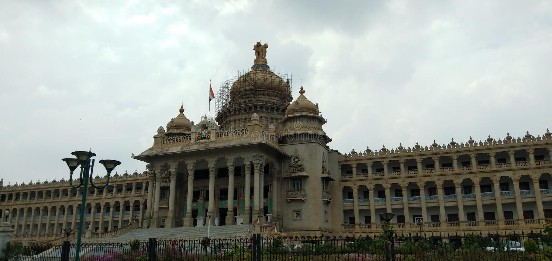 Vidhana soudha Bangalore. Vidhanasoudha Bangalore bengaluru royalty free stock photo