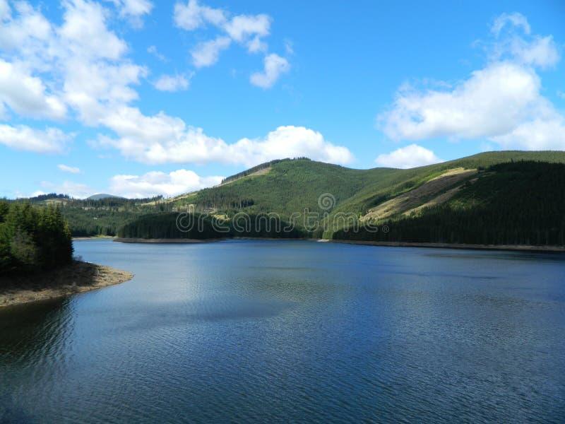 Vidra sjö royaltyfri fotografi