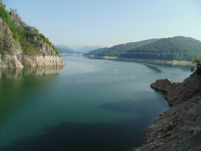 Vidraru dam stock photos