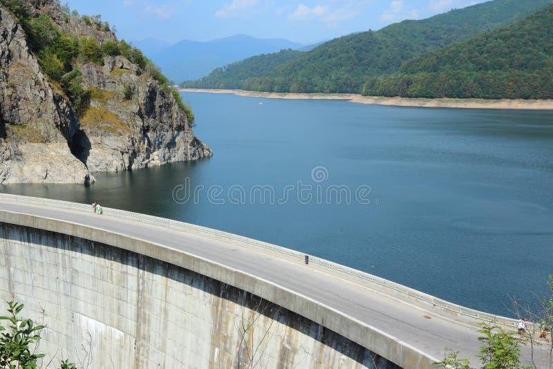 Vidraru Dam, Romania royalty free stock photo