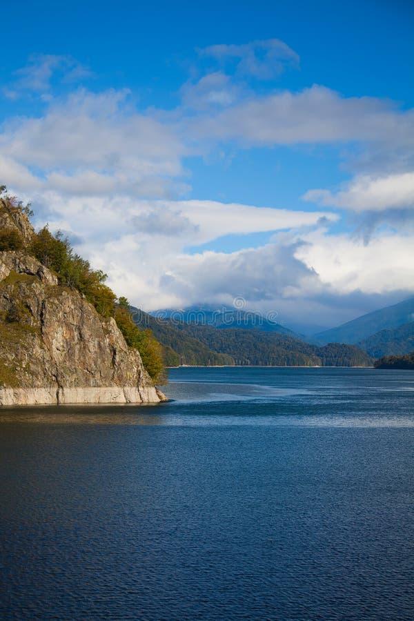 Vidraru Lake royalty free stock photography