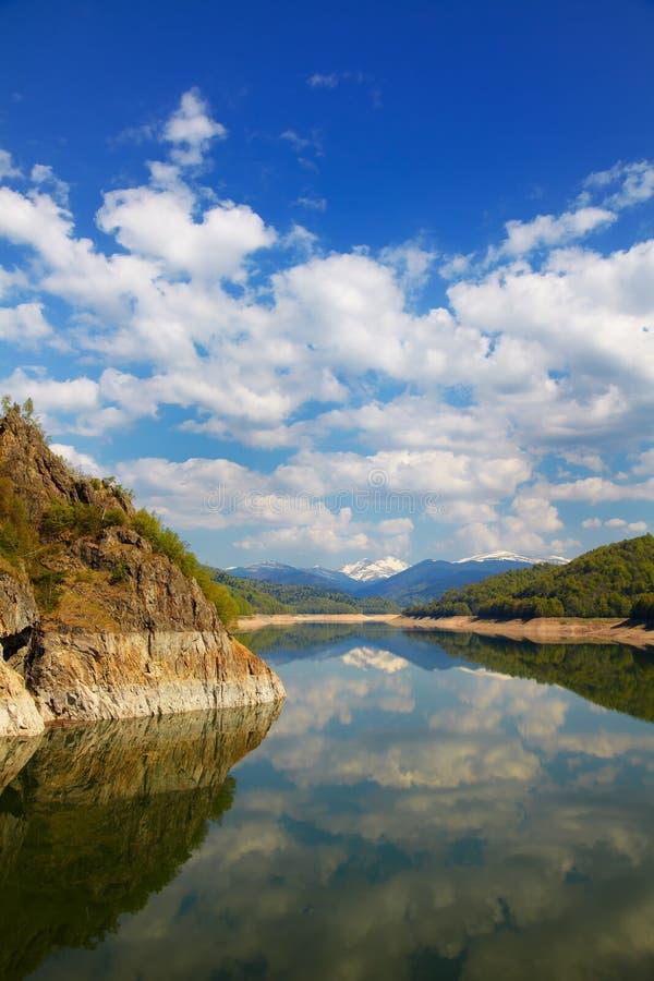Download Vidraru lake stock image. Image of pond, blue, water - 25262389