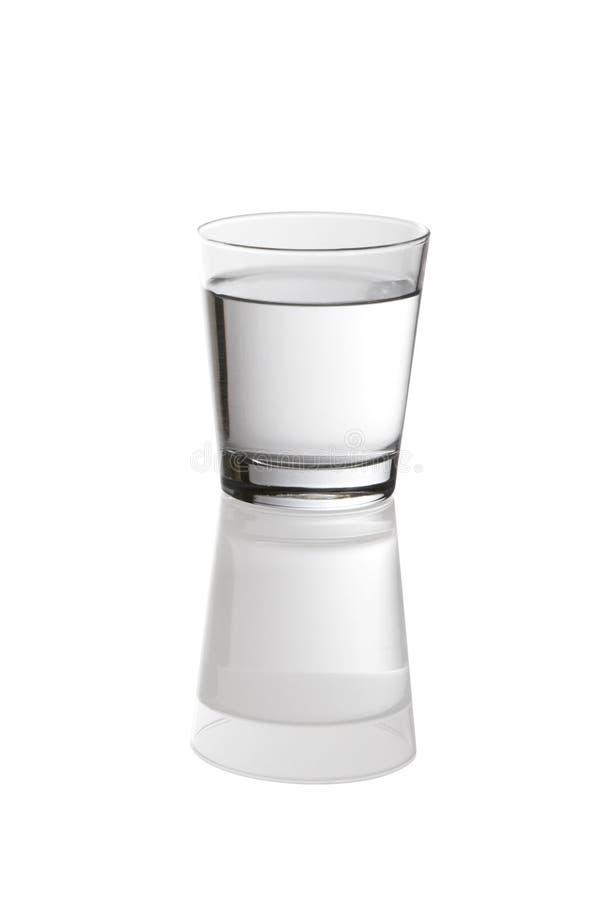 Vidrio claro de agua fotos de archivo