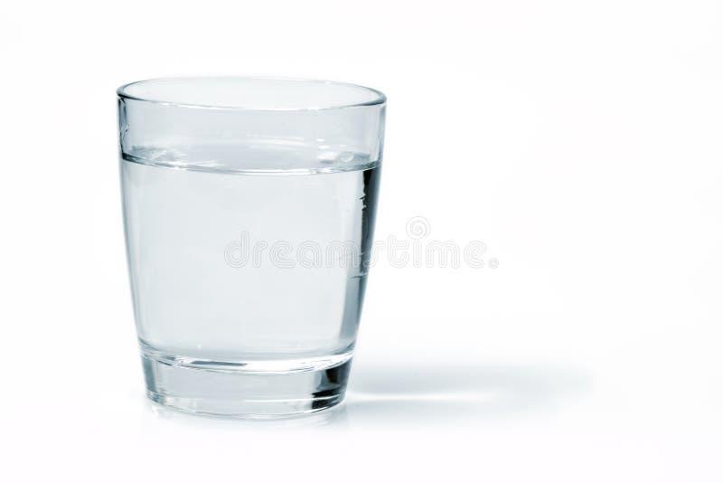 Vidrio con agua fotos de archivo libres de regalías