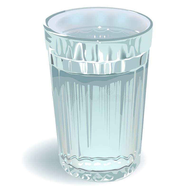 Vidrio de agua libre illustration