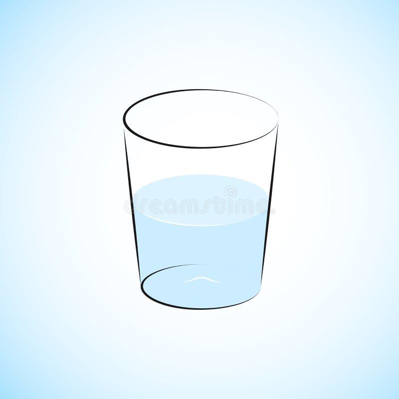 Vidrio De Agua Semilleno Fotos de archivo libres de regalías