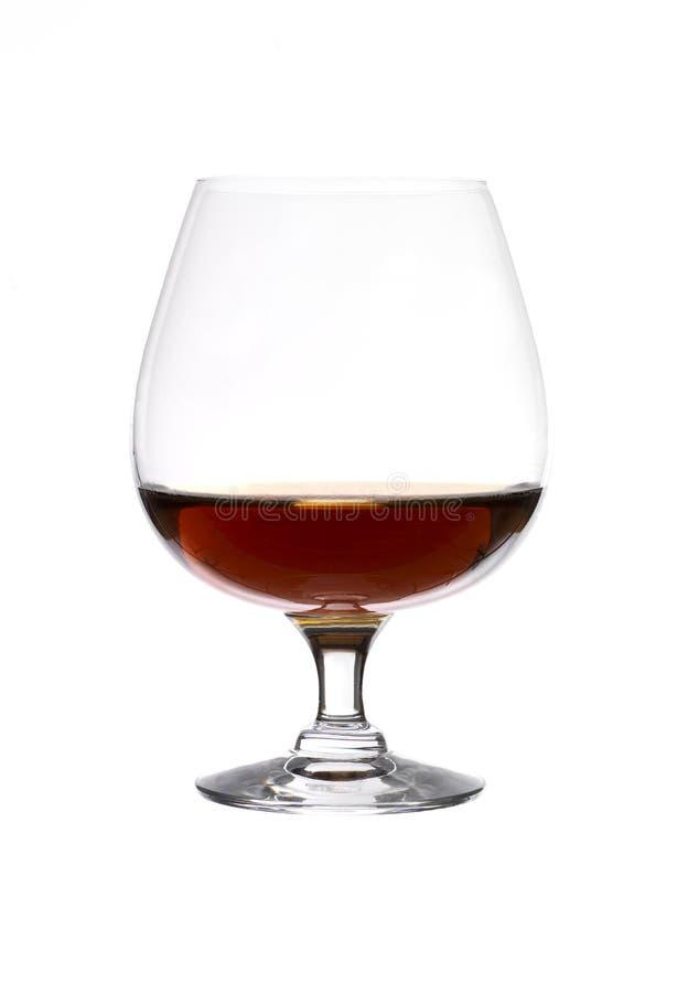 Vidrio de brandy foto de archivo libre de regalías