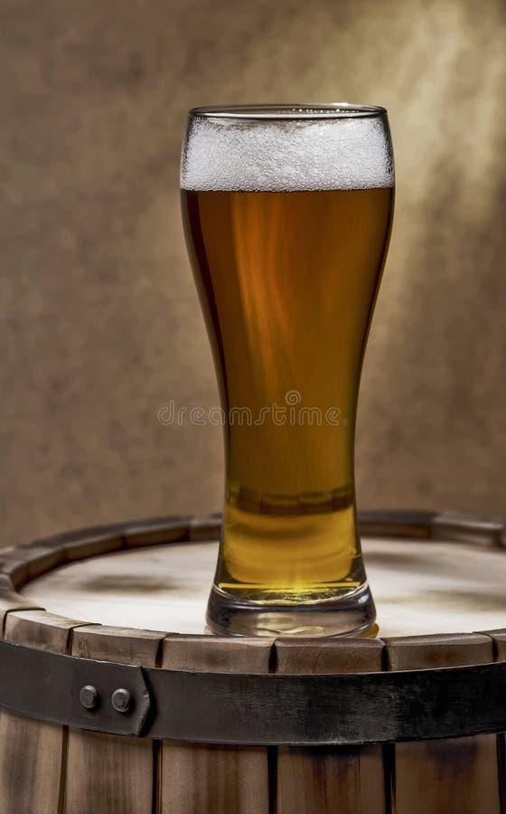 Vidrio de cerveza de cerveza imagen de archivo