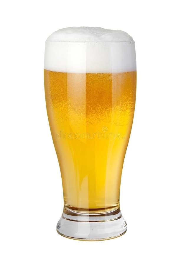 Vidrio de cerveza foto de archivo libre de regalías