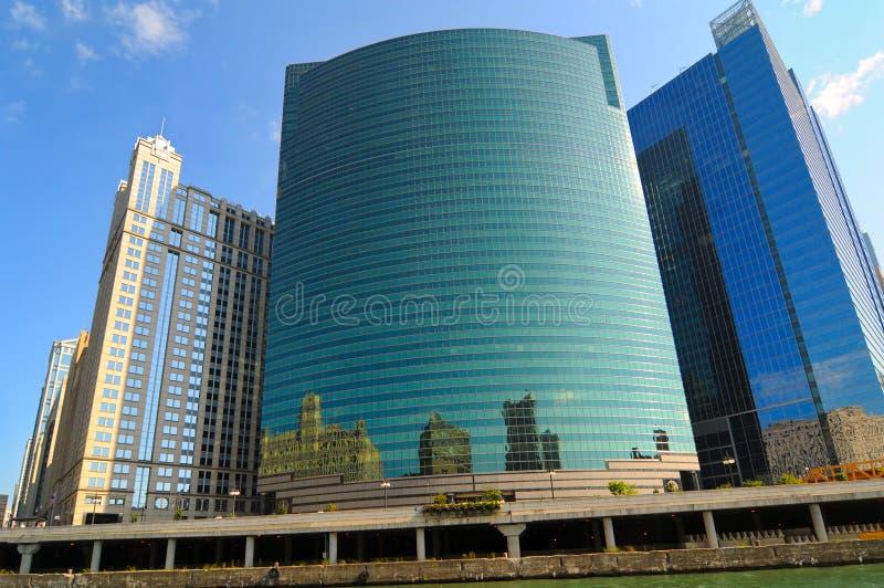 Vidrio de Chicago imágenes de archivo libres de regalías