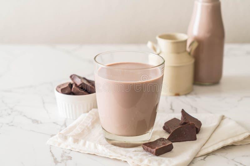 Vidrio de chocolate caliente imagen de archivo libre de regalías