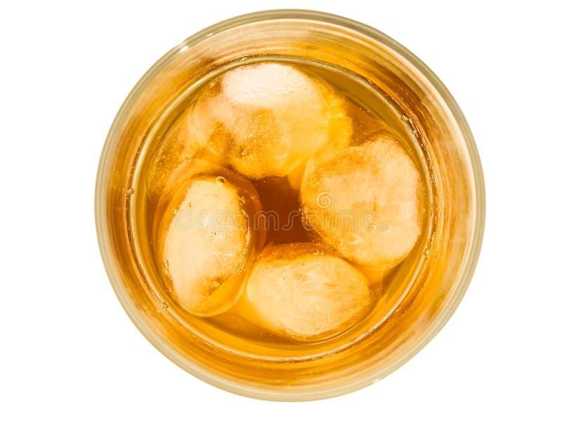 Vidrio de la bebida alcoholoic fotografía de archivo