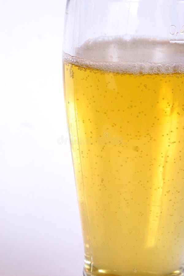 Vidrio de la cerveza 2 imagen de archivo libre de regalías