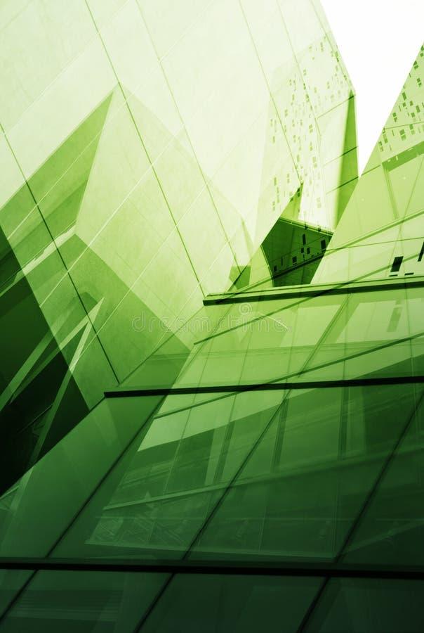 Vidrio de la torre moderna para el fondo del negocio imagenes de archivo